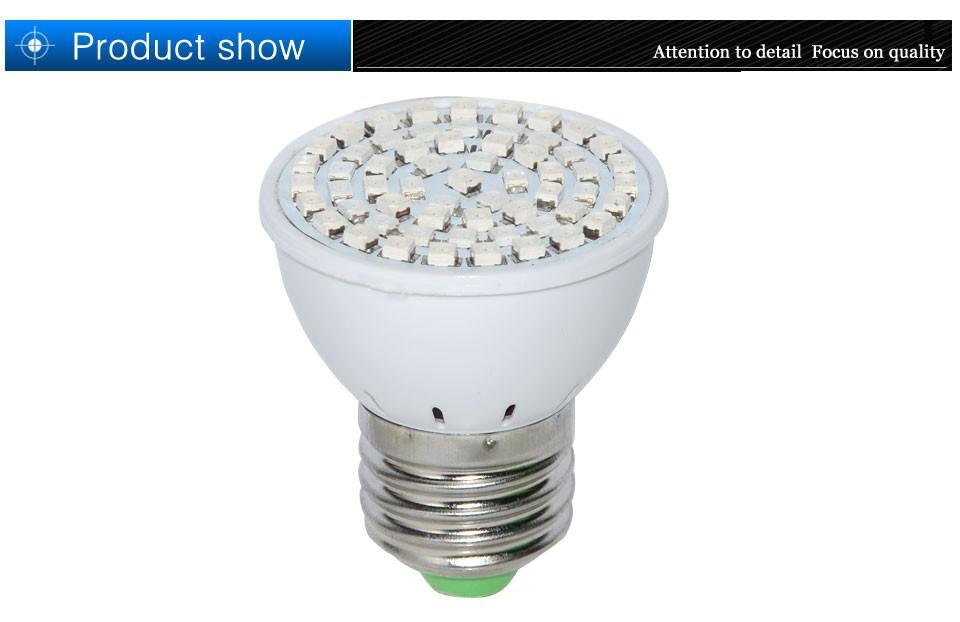 Светодиодная лампа 1 Spektrum e27 60 schneller Wachstum lichter 41red + 19blue gef hrt f r blumen pflanze hydrokultur