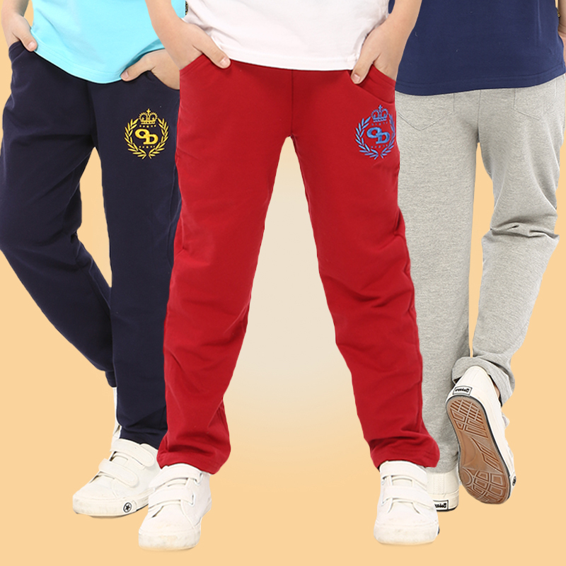 kids boy Casual Sports Pants baby boys leisure pants 2015 New Spring & Autumn Children vague school teens trousers 8 10 12 years(China (Mainland))