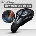 CoolChange Road Bicycle Saddle Mountain Mountain Bike Seat Gasbag Bike Seat Cover Super Slow Rebound MTB