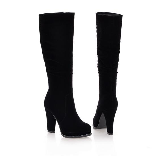 suede boots women knee high | Gommap Blog