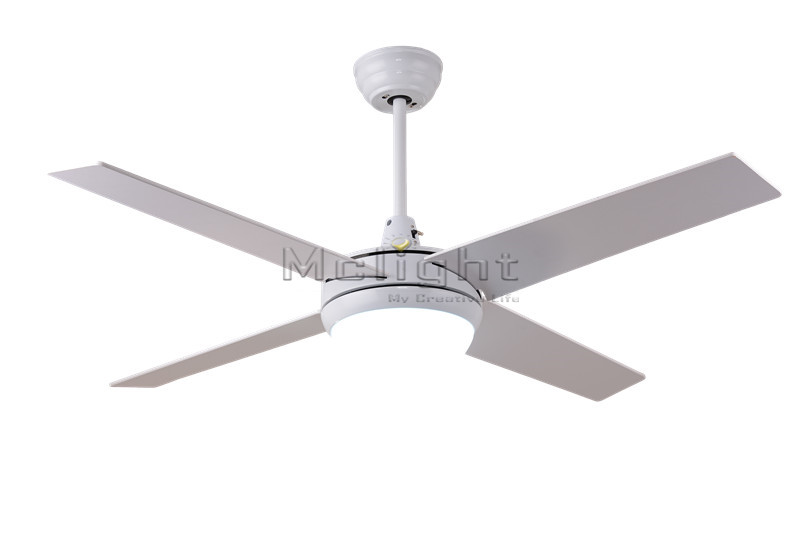 Foyer Ceiling Fans : Simple remote control led ceiling fans with lights kits