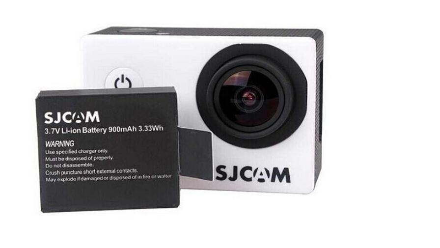 2x900mAh 3 7V Lithium Digital Batteries SJCAM SJ4000 SJ 4000 Battery Bateria camera Charger For SJ4000
