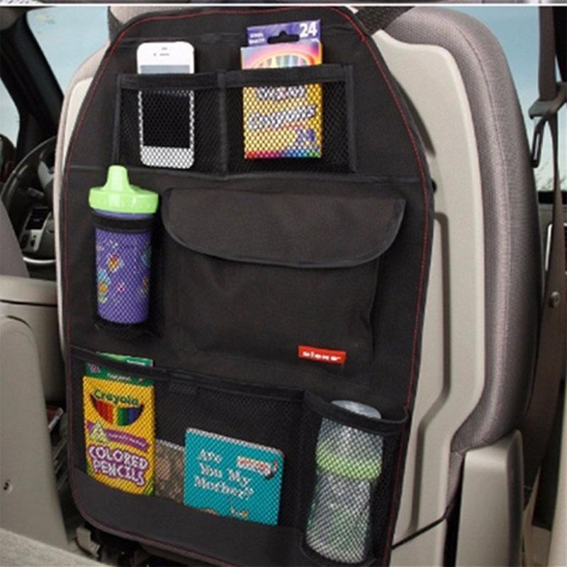 Car Seat Bag Storage Multi Pocket Organizer Car Seat Back Bag Car Accessories Collector Storage Multi-Pocket Hold Bag car-stying(China (Mainland))
