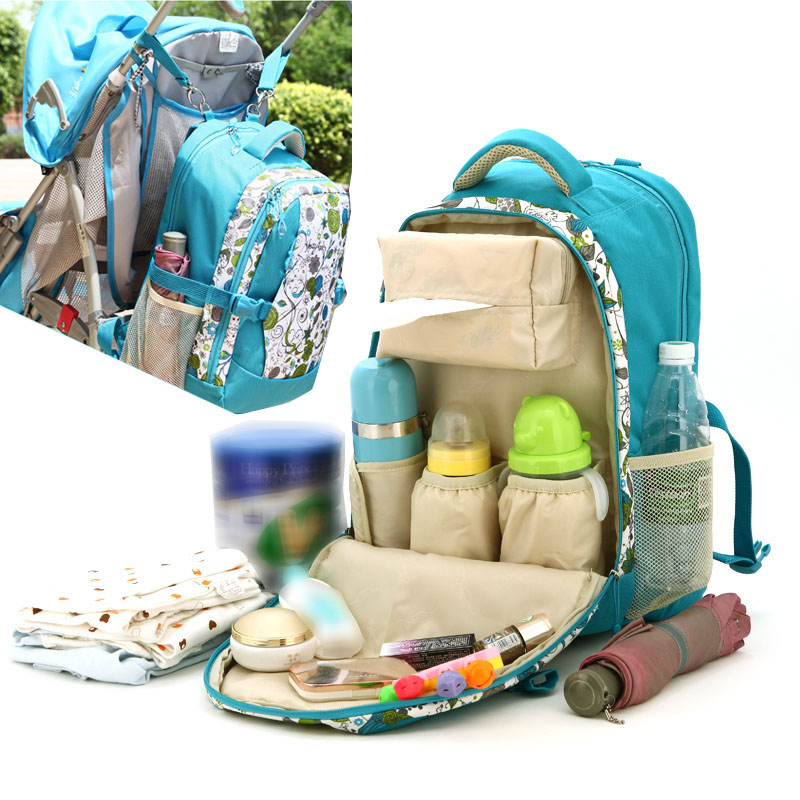 Large Capacity Mummy Bag High Quality Multifunctional Backpack Durable Polyester Nappy Bags Baby Diaper Bags<br><br>Aliexpress