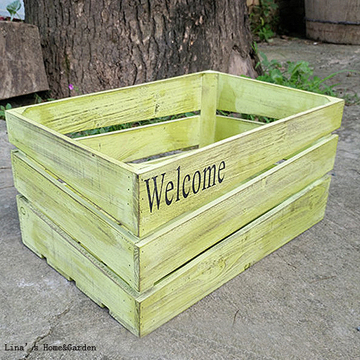 Popular small wooden crates buy cheap small wooden crates for Where do i find wooden crates