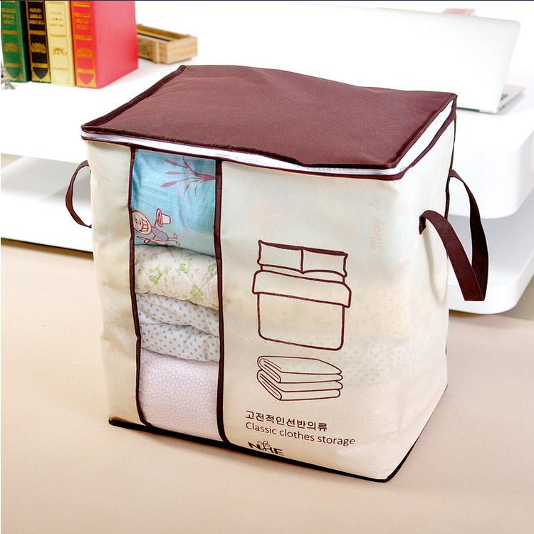 Caja de almacenaje no tejida cesta de la ropa y colchas - Cajas almacenaje ropa ...