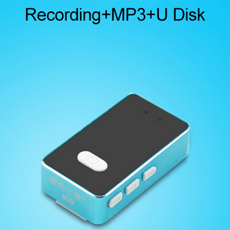 3 In 1 Mini Lossless Music Mp3 Player With Digital Voice Recorder U Disk Function Built in Battery Microphone 8G 16G 32G Option(China (Mainland))