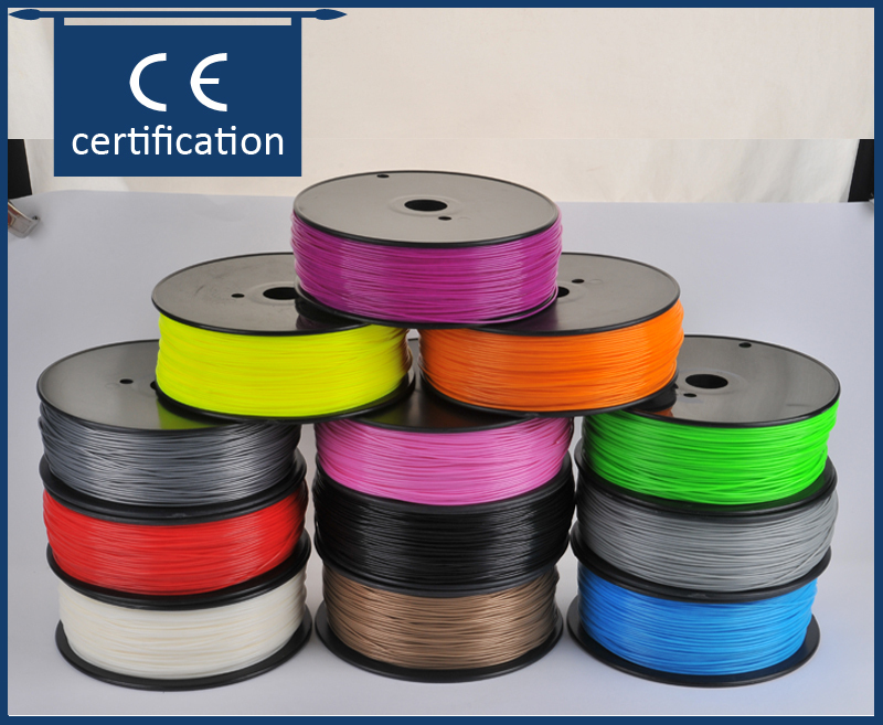 все цены на  Запчасти для принтера Createbot 3d printer filament 3D 1,75 /3 ABS impressoras 3d, Makerbot RepRap, Rapman ABS 1.75/3mm filament  онлайн