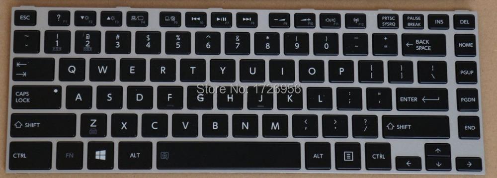 Original New US Laptop Keyboard for Toshiba Satellite E40 A E45T A E45T A4200 A4300 AST2N01 with backlit PN:PK1310R1B00 MP.12WS(China (Mainland))
