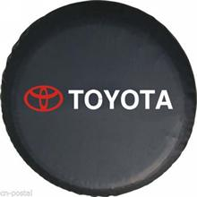 Free Shipping 16 Inch New Universal Spare Wheel Tyre Tire Cover PU For TOYOTA RAV4 Highlander Land Cruiser