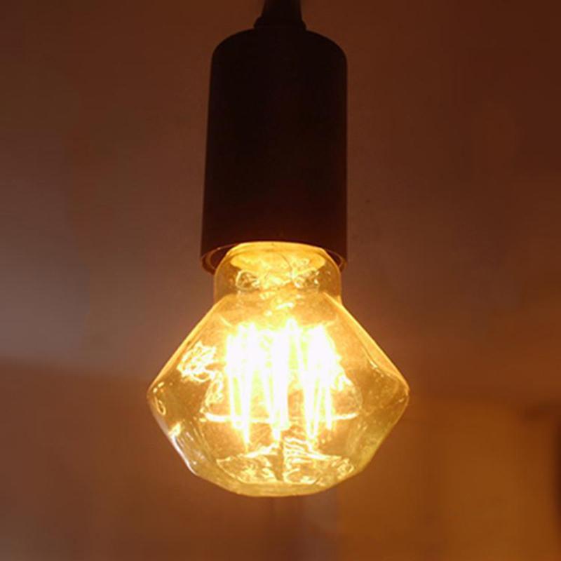 10PCS 40W 110V 220v Diamond Tungsten Incandescent Bulb Tungsten Bulb Edison Light Retro Lamp Incandescent Edison Bulb(China (Mainland))