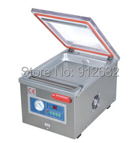 304 stainless steel Small Desk-top vacuum packaging machine, food plastic bag vacuum packing machine, vacuum sealer china