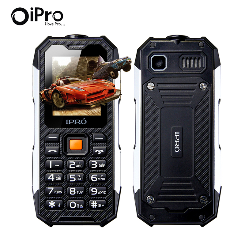New Arrival IPRO I3208 Waterproof Mobile Phone 2500mAh Battery Military Super Shockproof Keyboard 32M+32M Dual SIM Cell Phones(China (Mainland))