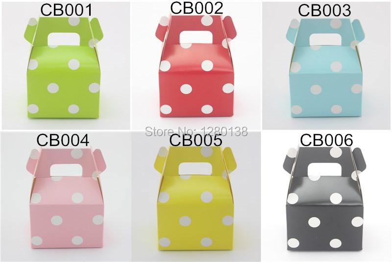 polka dot candy boxs color chat