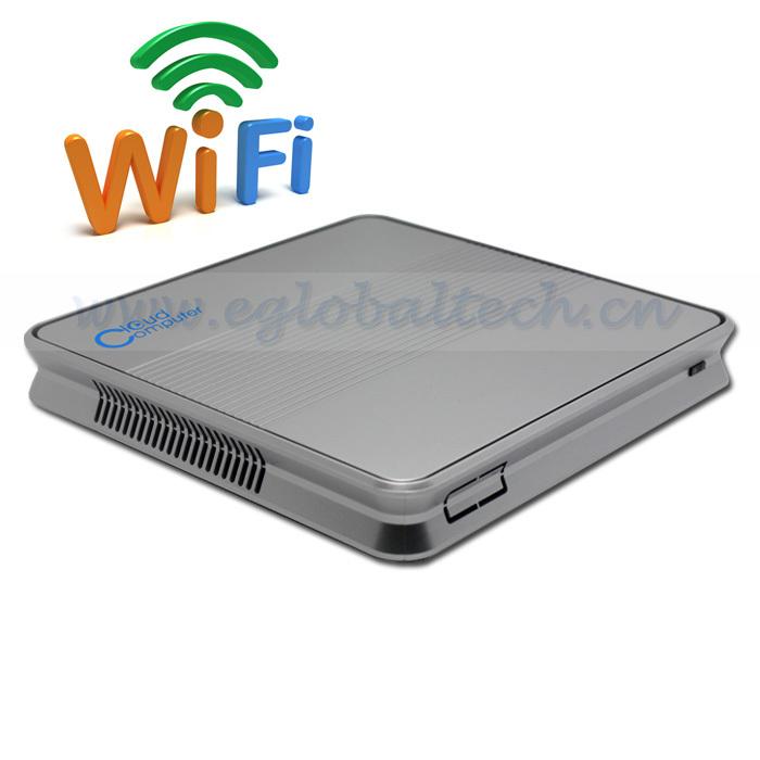 Mini PC Thin Client Wifi 150M Intel D2500 Linux Micro Server 2G DDR3 RAM 320G HDD Thin Client HDMI Free Shipping DHL Cost(China (Mainland))