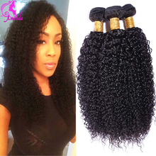 Crochet Hair Extensions Brazilian Kinky Curly Virgin Hair 3 Bundles Grade 7a Unprocessed Afro Kinky Curly Hair Human Hair Weave