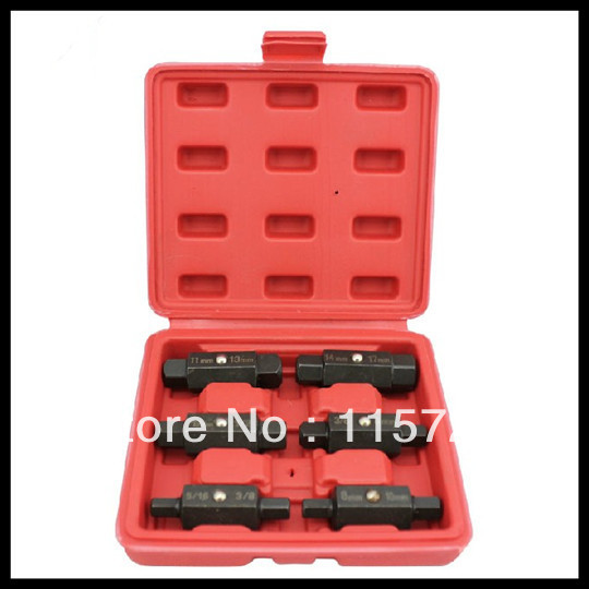 Freeshipping auto repair tool Double-sided special wrench for oil drainage(China (Mainland))
