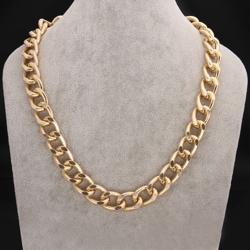 15mm new gift fashion big chunky statement chokers