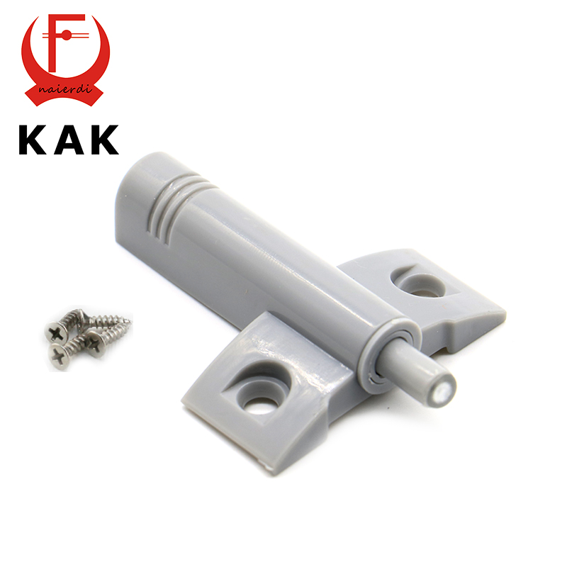 KAK High Quality 10Set/Lot Gray White Kitchen Cabinet Door Stop Drawer Soft Quiet Close Closer Damper Buffers With Screws(China (Mainland))