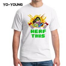 Buy Yo-Young Summer Men T Shirts Gamer Gremlin Stole POG DVA Nef Design Digital Printed 100% 180g Combed Cotton Customized for $9.35 in AliExpress store