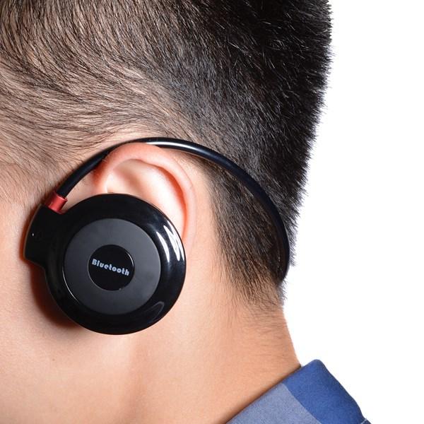 New Mini 503 Neckback Sport Wireless Bluetooth Handsfree Stereo Headset Headphone Earphone For Samsung For iPhone For LG Black<br><br>Aliexpress
