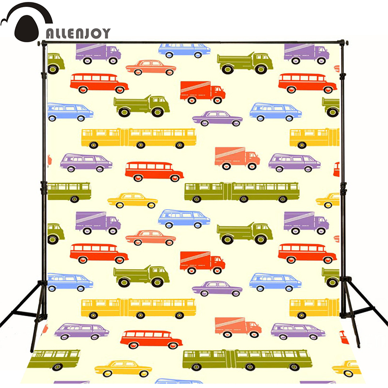 Photography background Bus school bus van truck newborn photography photo for studio camera fotografica wood roll send(China (Mainland))