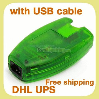 Green MX Box  (HTI / mxbox) + USB A-B Cable Gift for Nokia Unlock & Flash + Free Shipping by EMS UPS DHL