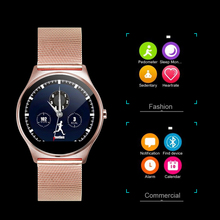 Men Women Bluetooth Wrist Smartwatch Heart Rate Monitor Remote Camera Clock Connectivity Apple iPhone Android Phone Smart Watch