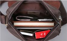 2015 New Fashion Famous Brand Men s Messenger Bags Genuine Leather Oxford Vintage Mens Handbag Desigual