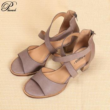 Fashion cross tied summer shoes woman heels women sandals 2016