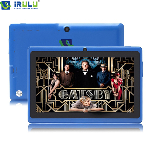 "IRULU Brand Tablet PC 7"" Android 4.4.2 Quad Core Real 1024*600 HD 16GB Dual Camera 2.0MP Support 3G WIFI Highest Version NEW(China (Mainland))"
