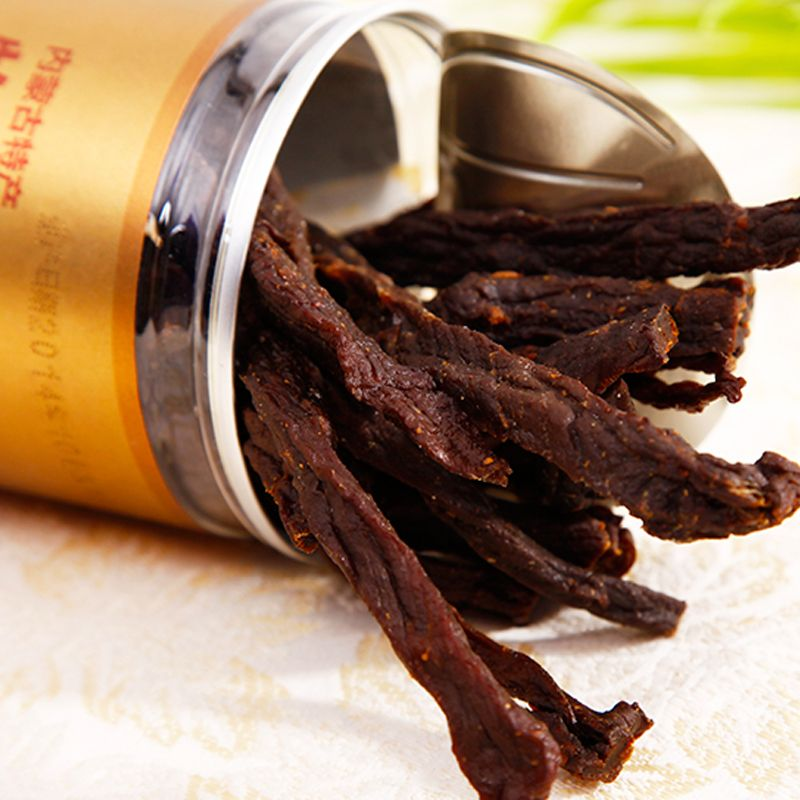Super dry beef jerky Inner Mongolia specialty snacks Not Fried charcoal baked dry air dried beef jerky<br><br>Aliexpress