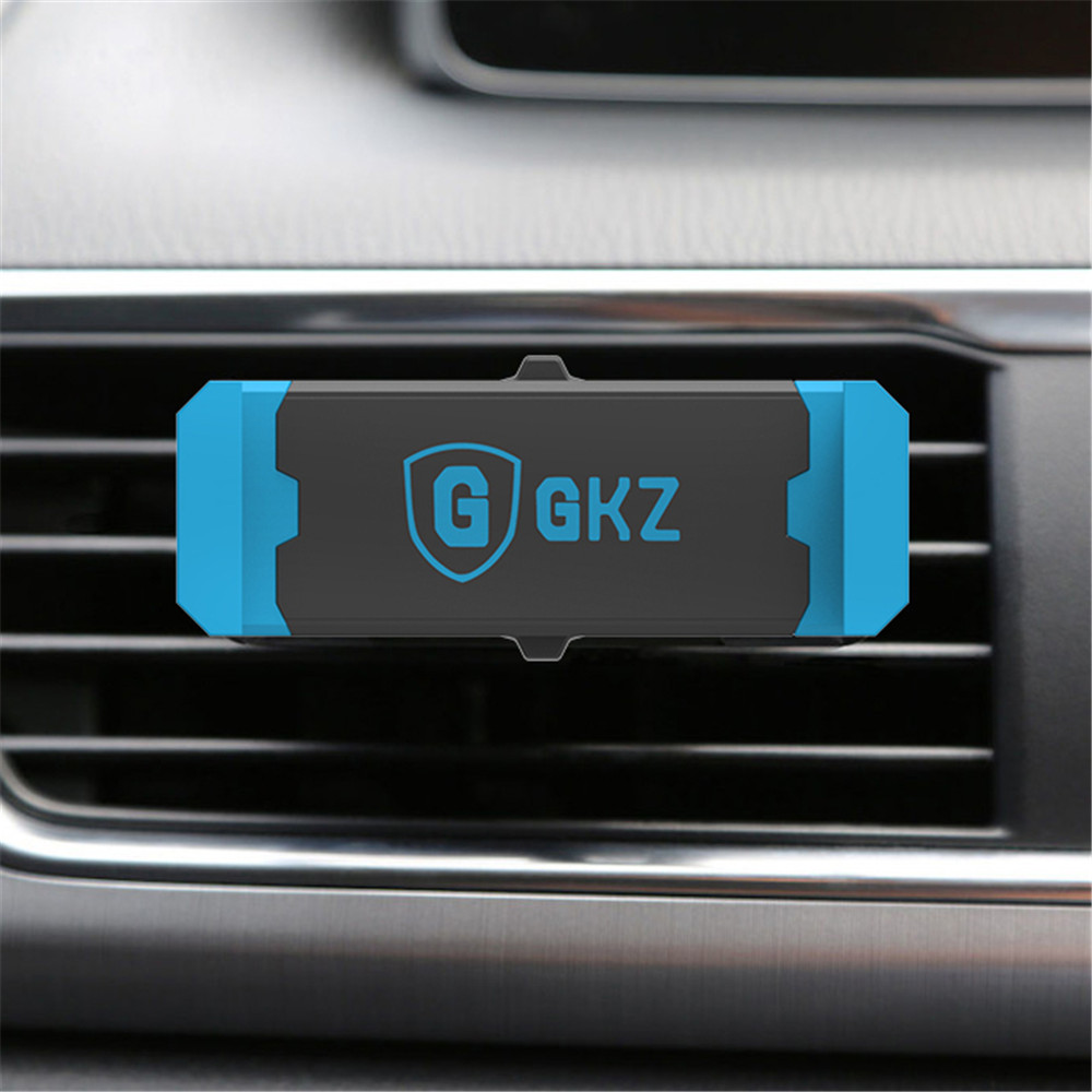 GKZ K1 Luxury Car Phone Holder Air Vent Mount Stand GPS Bracket 360 Rotate adjustable holder