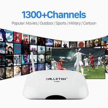 Buy 2017 Android Smart TV Box Quad Core 2.4G WIFI Media Player 1300 IPTV Channels Europe Arabic 1 Year Free QHDTV Subscription for $46.07 in AliExpress store