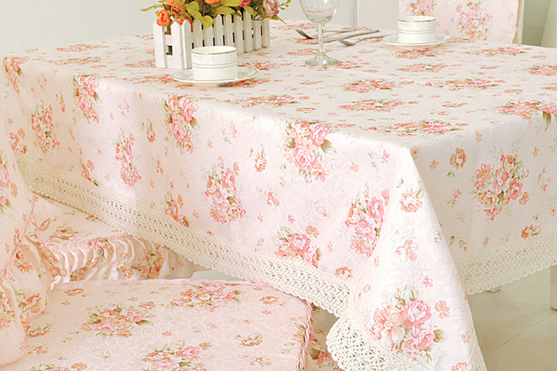 Rustic table cloth fabric towel cover universal cover towel square dining table cloth tablecloth
