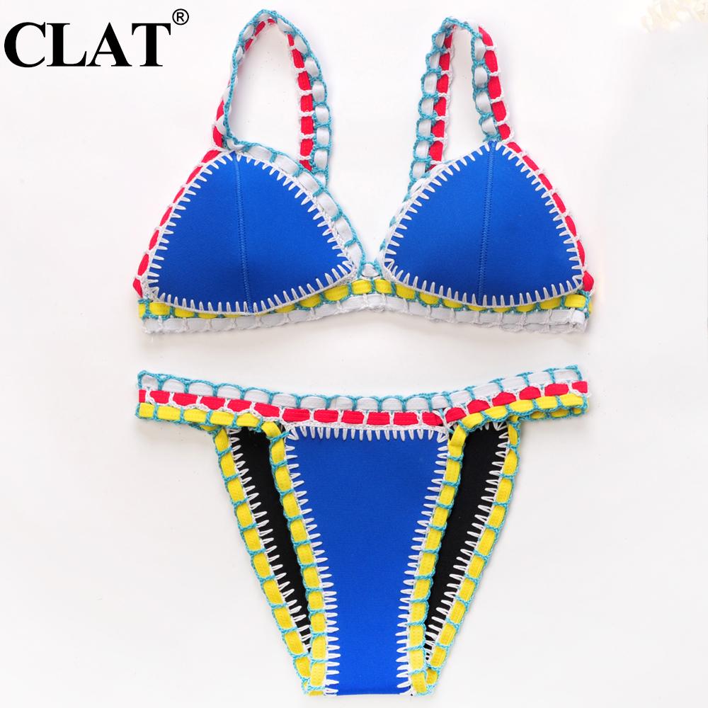 Sexy Handmade Crochet Bikini Swimsuit Brazilian Bikini 2016 Crochet Swimwear Bathing Suit Biquini maillot de bain biquinesОдежда и ак�е��уары<br><br><br>Aliexpress