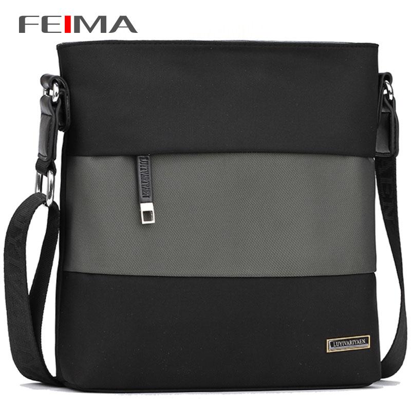 FEIMA! New Fashion Style Men Messenger Bags Splice Design Oxford Water-proof Zipper Bag Mens Famous Brand Travel Bags 151949<br><br>Aliexpress