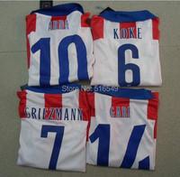 top quality  GRIEZMANN 7  GABI 14 KOKE 6  ARDA 10  Soccer shirt for youth child,boys   Soccer Jersey Uniforms football Jerseys