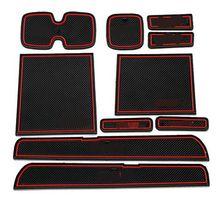 For 2005-2014 Suzuki Swift PVC anti-slip mat door gate slot pad/mat  tank gasket cup mat/pad auto accessories 3color(China (Mainland))