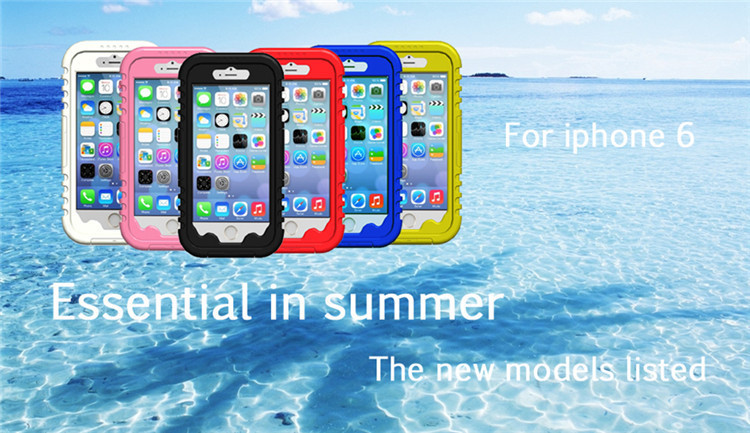 """For apple iphone 6 plus Case ,shock proof waterproof cover for iPhone 6 Plus Cover with Fingerprint for iphone 6 plus 5.5""""(China (Mainland))"""
