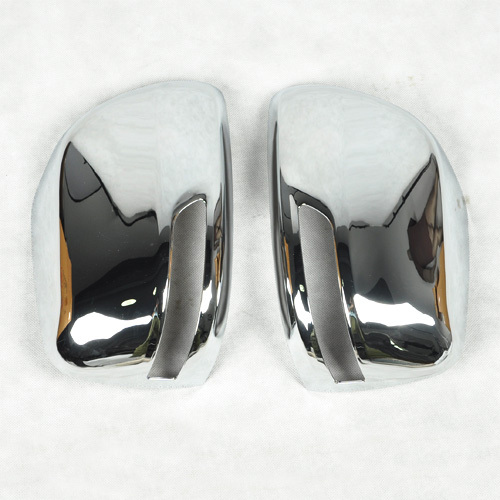 Hot ABS Chrome Rearview Side Mirror Cover Trim With LED For Prado FJ150 [QP188]<br><br>Aliexpress