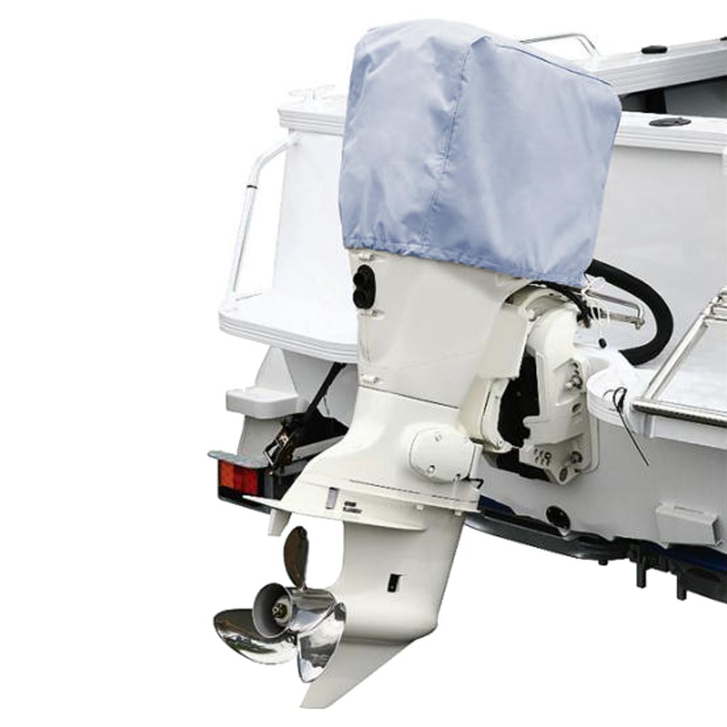 1 шт. серый подвесной мотор крышка крышки водонепроницаемый Оксфорд ткань для 30 90 1 Pcs Grey Outboard Motor Hood Cover Waterproof Oxford Fabric For  30 - 90 HP Separate Outboard Engines Mildew Motor Cover