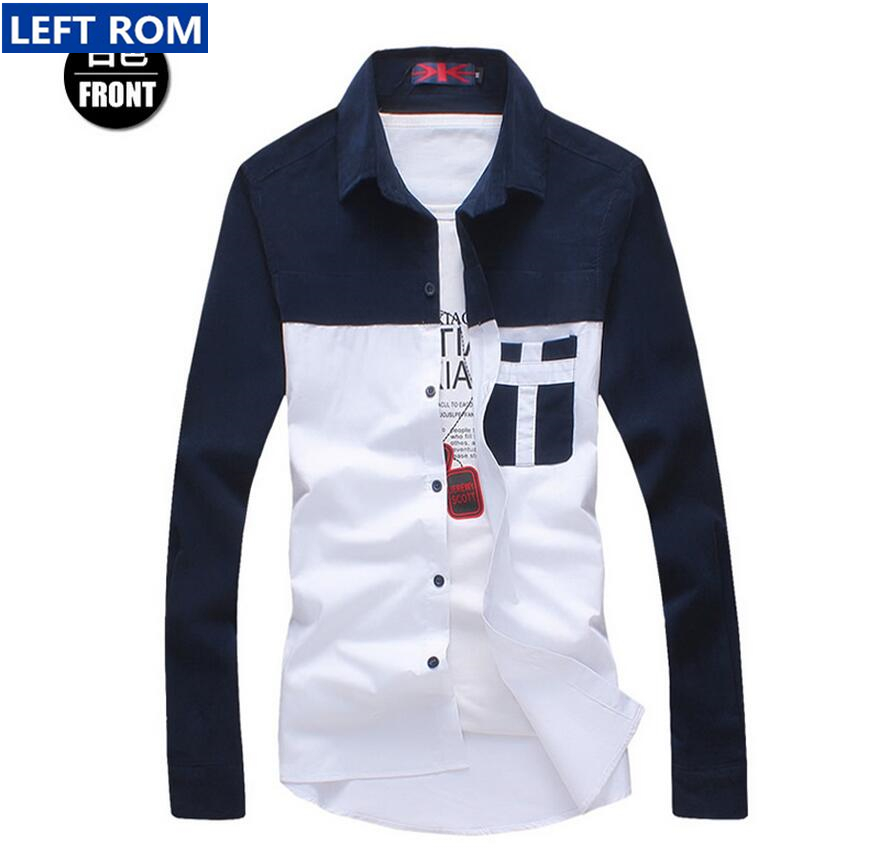 Male long-sleeved shirt large size summer leisure and comfortable choice(China (Mainland))