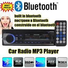 2015 новые Bluetooth автомобильный радиоприемник Bluetooth аудио автомобильные cd AUX-IN MP3 FM передатчик USB 1 Din 12 В dash mp3-плеер