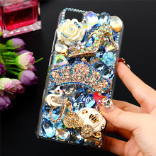 Buy Luxury 3D Handmade Rhinestone Case Xiaomi Mi5 Bling Glitter Diamond Crystal Clear Hard Plastic Back Cover Xiaomi M5 Mi 5 for $4.95 in AliExpress store