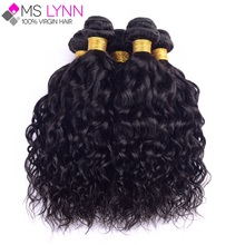 mslynn Peruvian Virgin Hair Natural Wave 4 Bundles,Peruvian Curly Virgin Hair Wet And Wavy Human Hair Bundles Soft Peruvian Hair(China (Mainland))