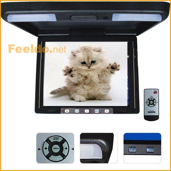 11.4 inch Flip Down overhead Car Roof Monitor(FD-LCD-F1148)<br><br>Aliexpress