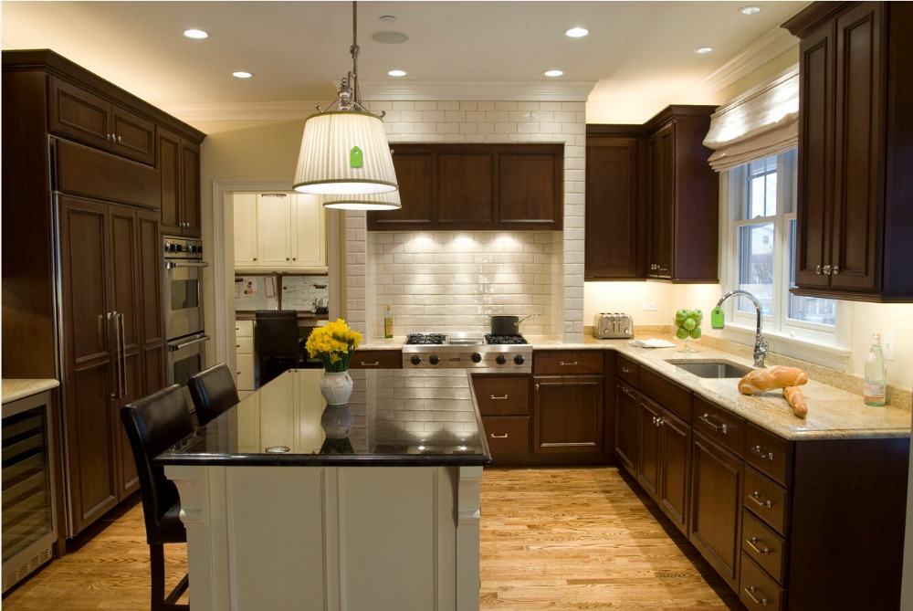 2016 sales wood kitchen cabinets cheap priced solid