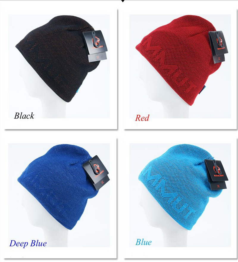 Free shipping winter hats gorras male wire cap male thermal outdoor Beanie skiing hat fleece winter