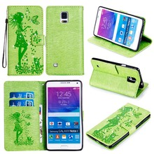 Buy Embossed Case Samsung Galaxy NoteIV N9100 Note 4 N9108 Note4 N910 Note IV Wallet Cover PU Leather Stand Phone Case Back Bags for $3.56 in AliExpress store